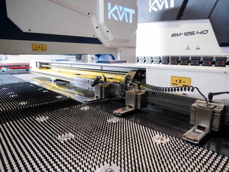 KMP - координатно-пробивной пресс KMP